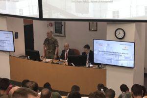Lezione di Angelo Paletta alla Scuola di Applicazione dell'Esercito Italiano
